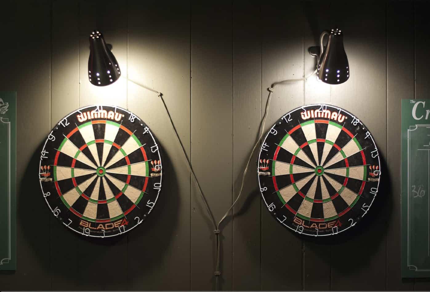 best dartboard lighting