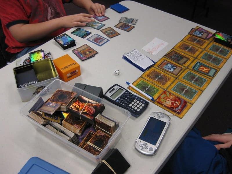 play testing a yugioh deck