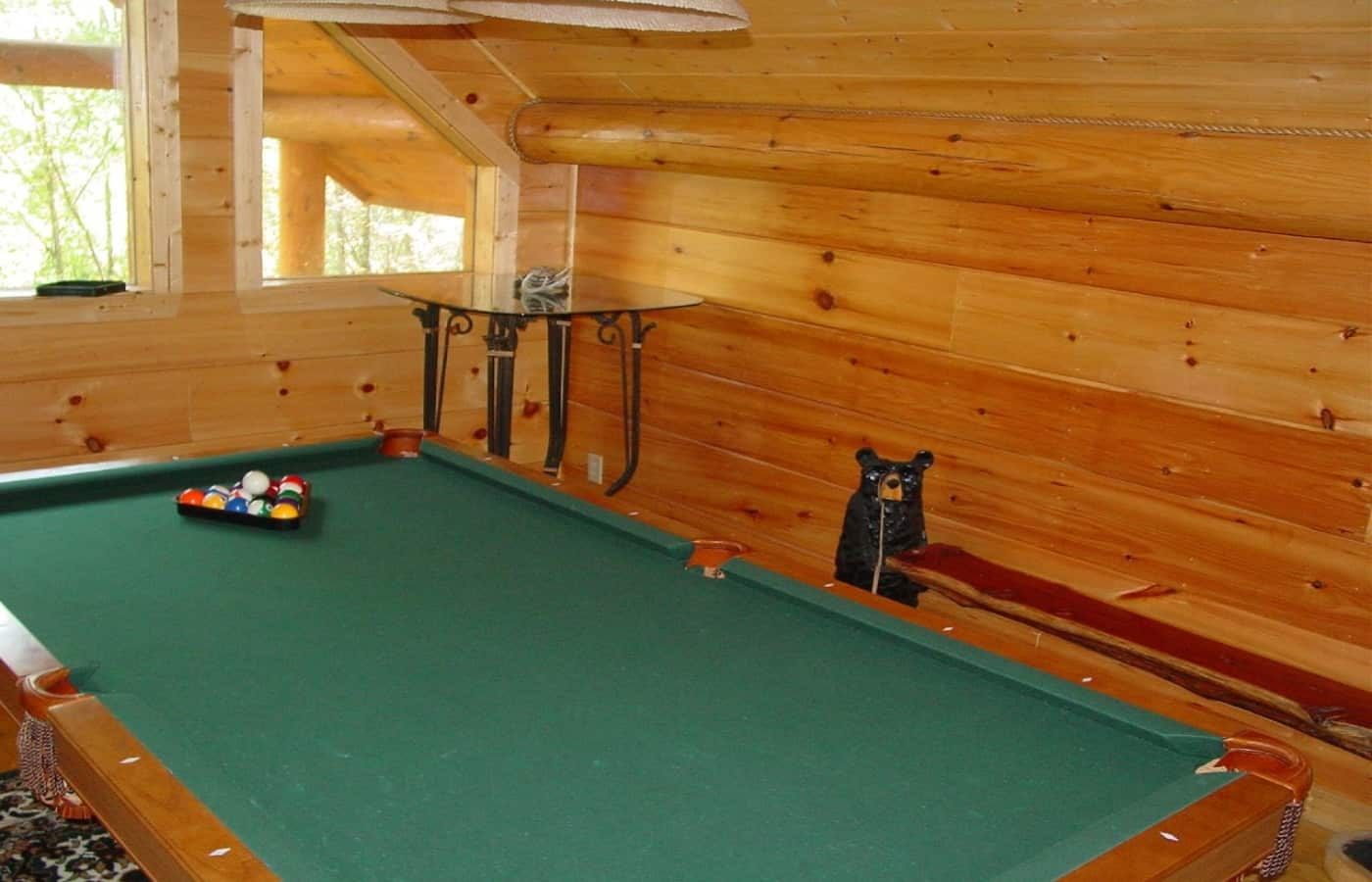 can a pool table go upstairs