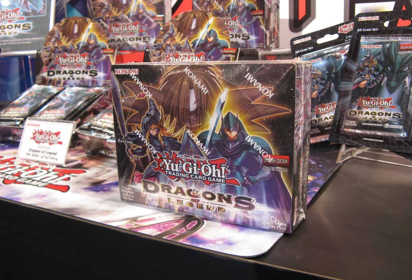 can you buy yugioh cards from konami