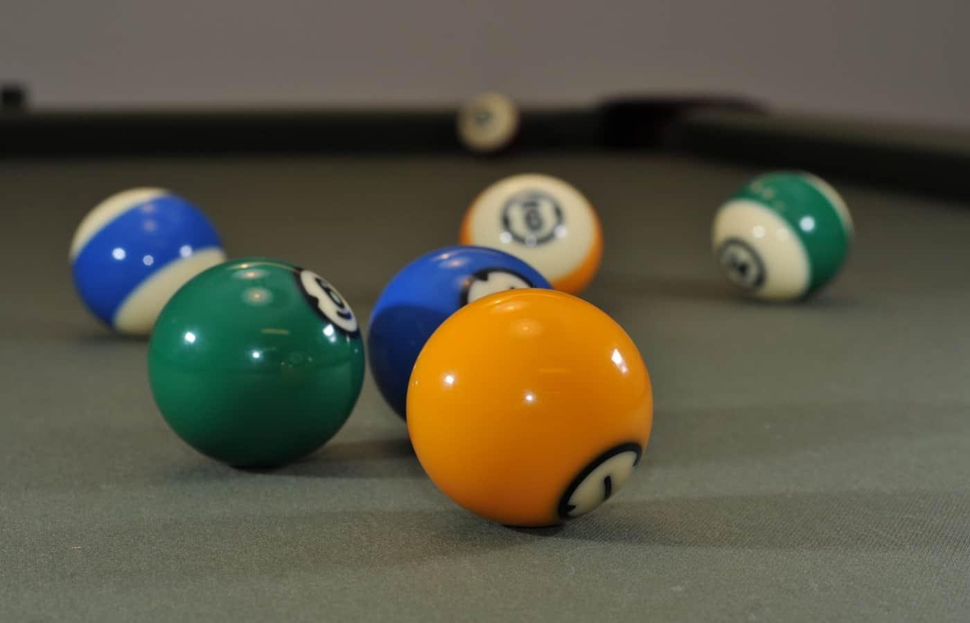 how are billiard balls made