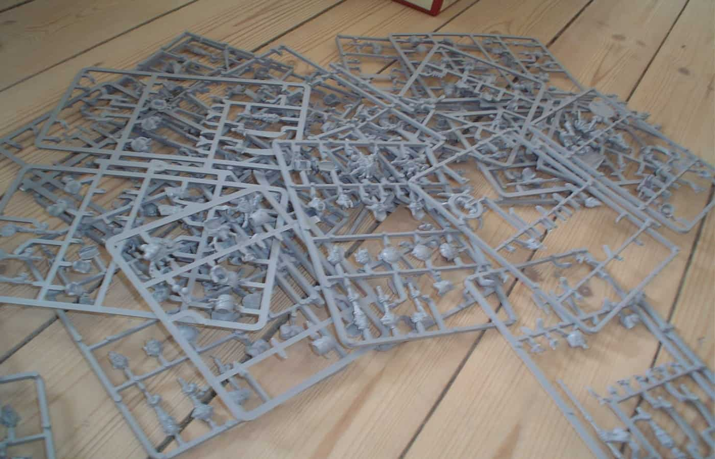 can you recycle warhammer sprues