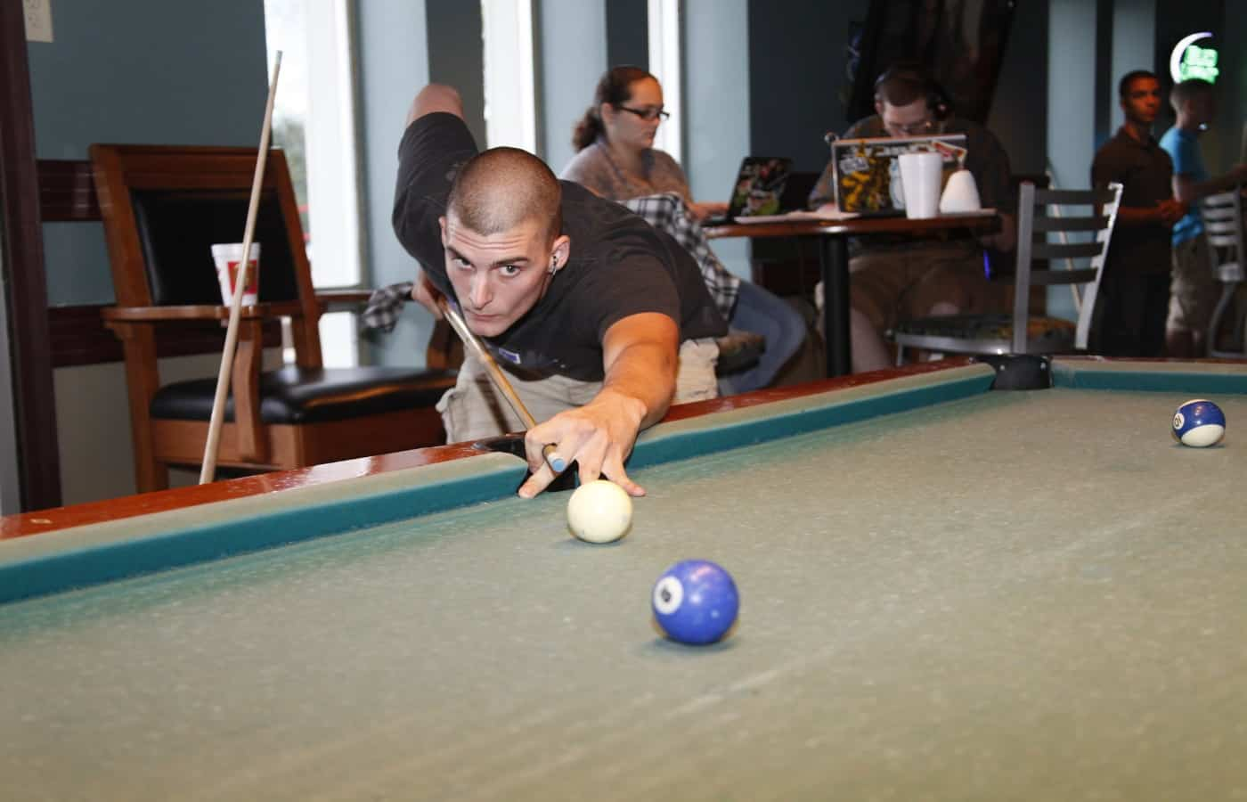 is playing pool bad for your back