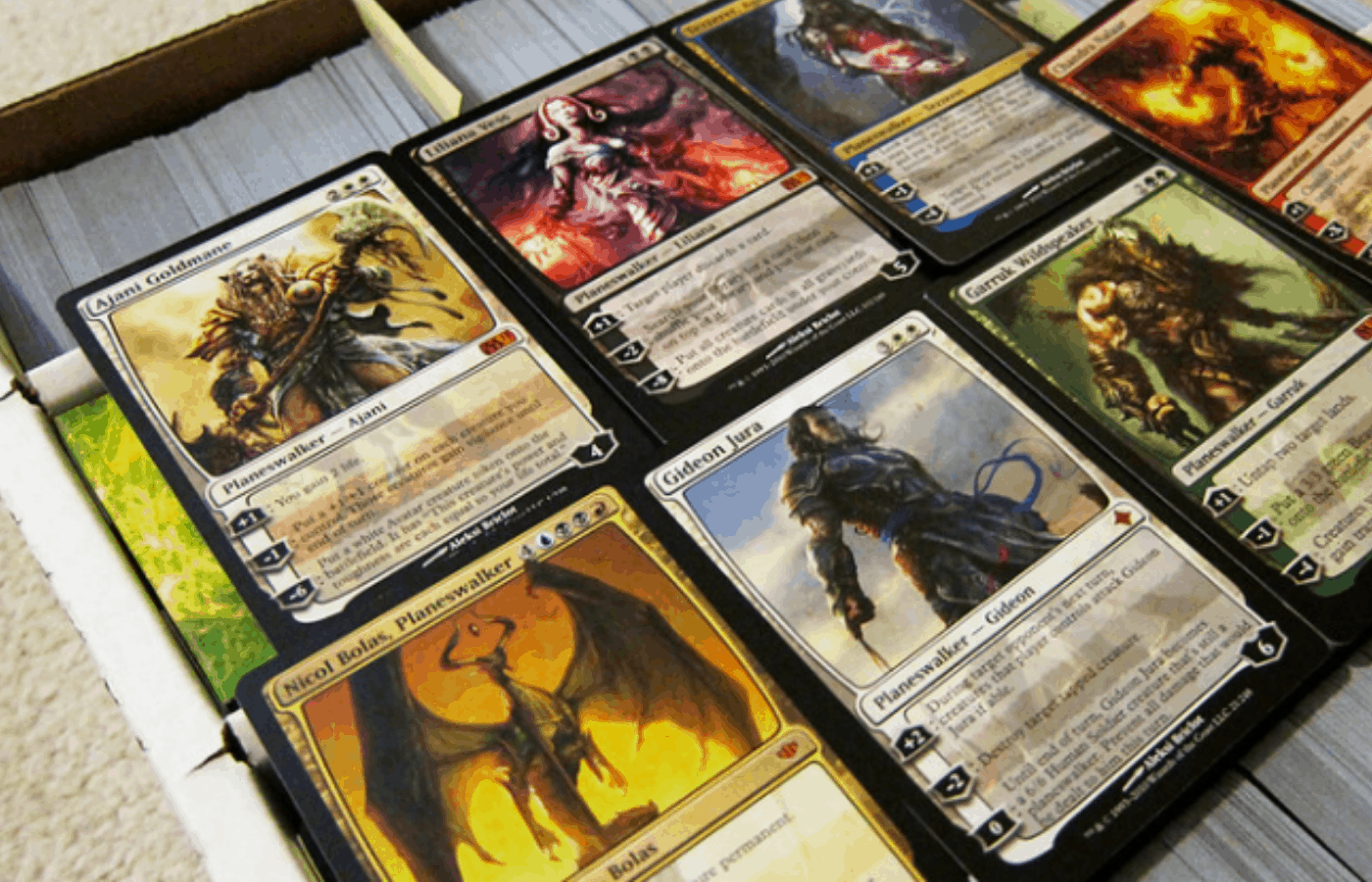 best way to store magic the gathering cards