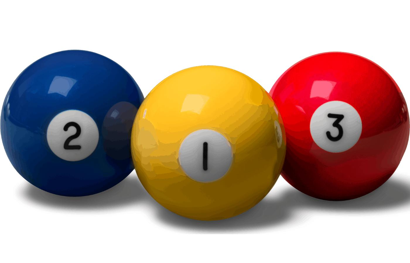 can you paint billiard balls