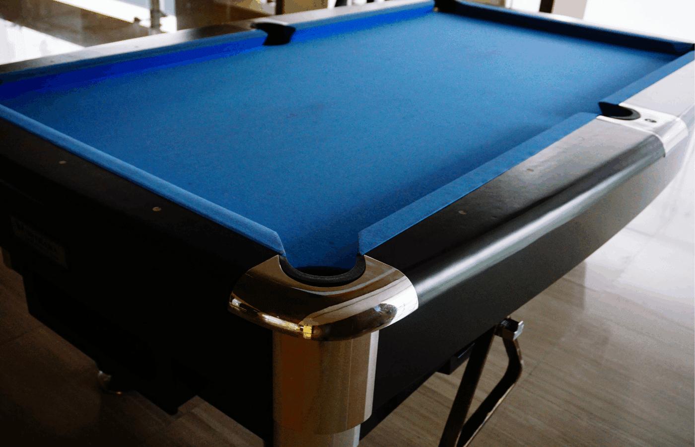 can you sand pool table slate