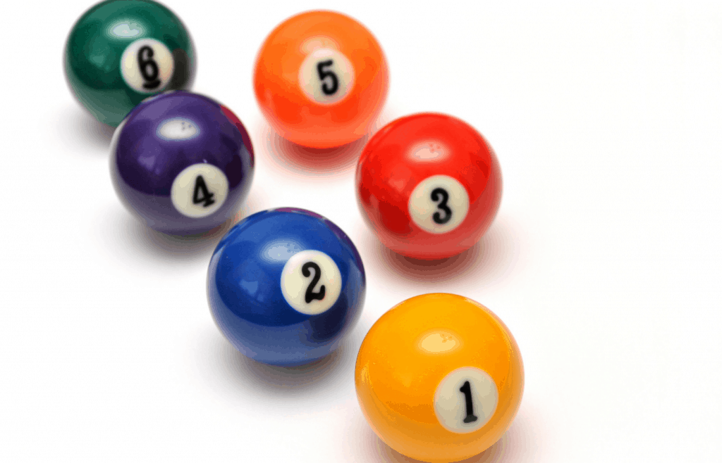 different ways you can paint a billiard ball