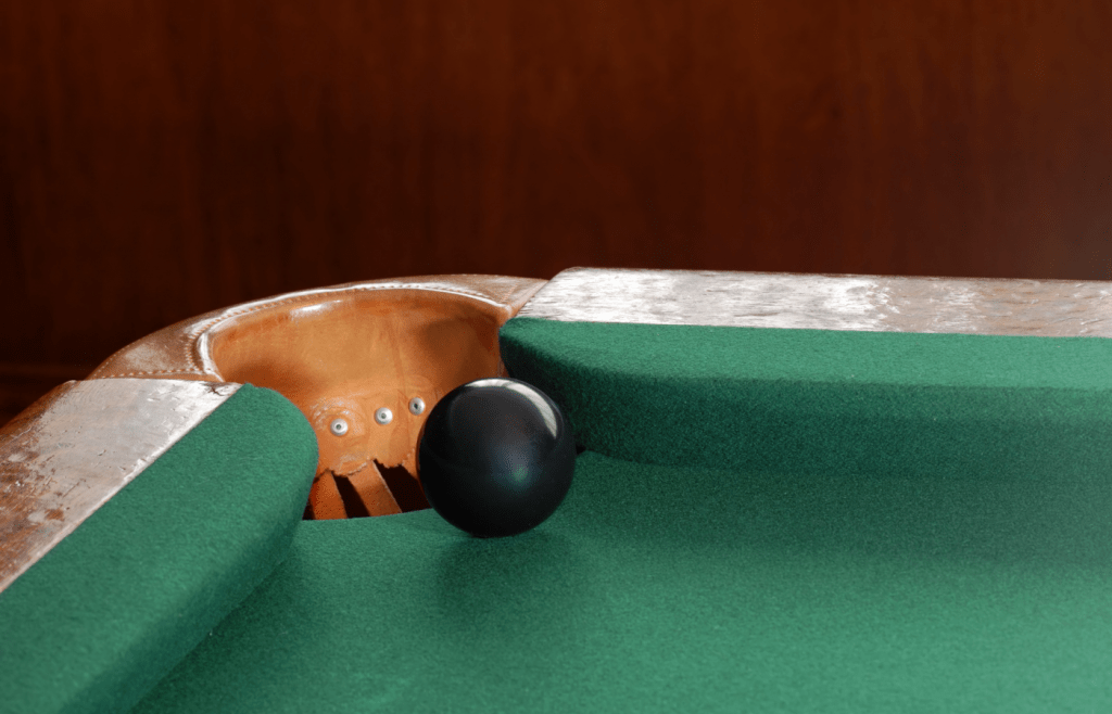 foul for potting the black ball in snooker