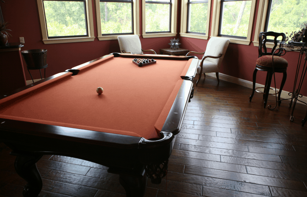 how to make a pool table look good in your home