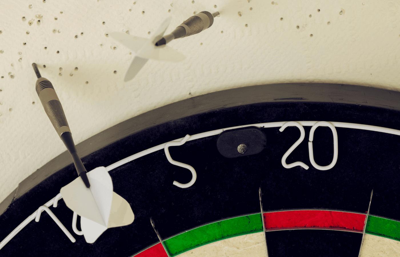 how to repair dart holes