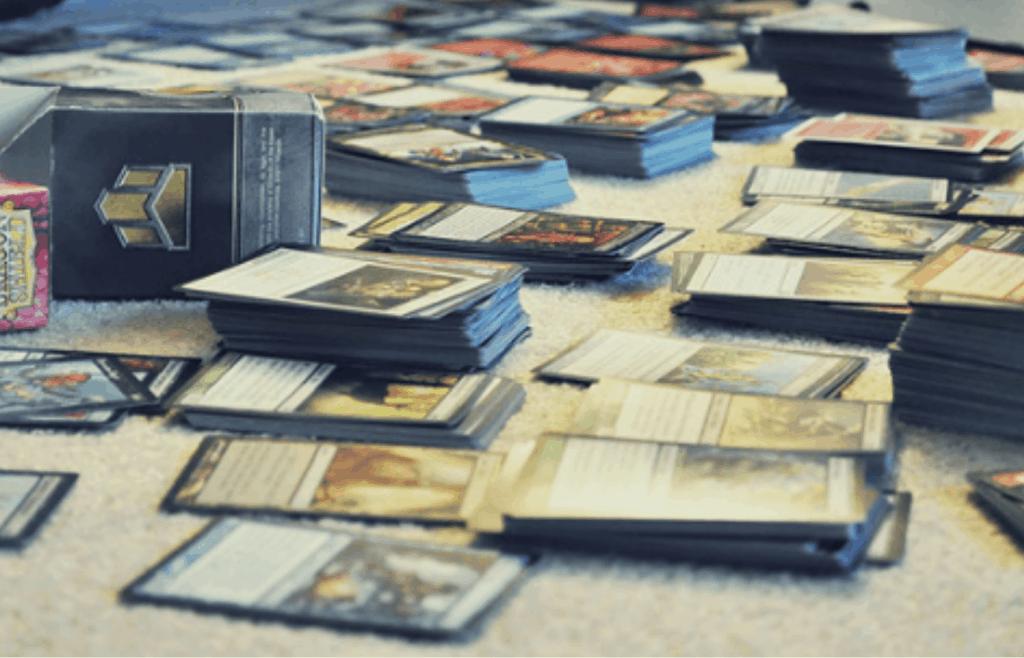 organizing magic the gathering cards