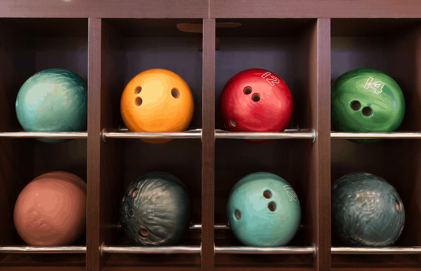 can bowling balls be stored in the garage