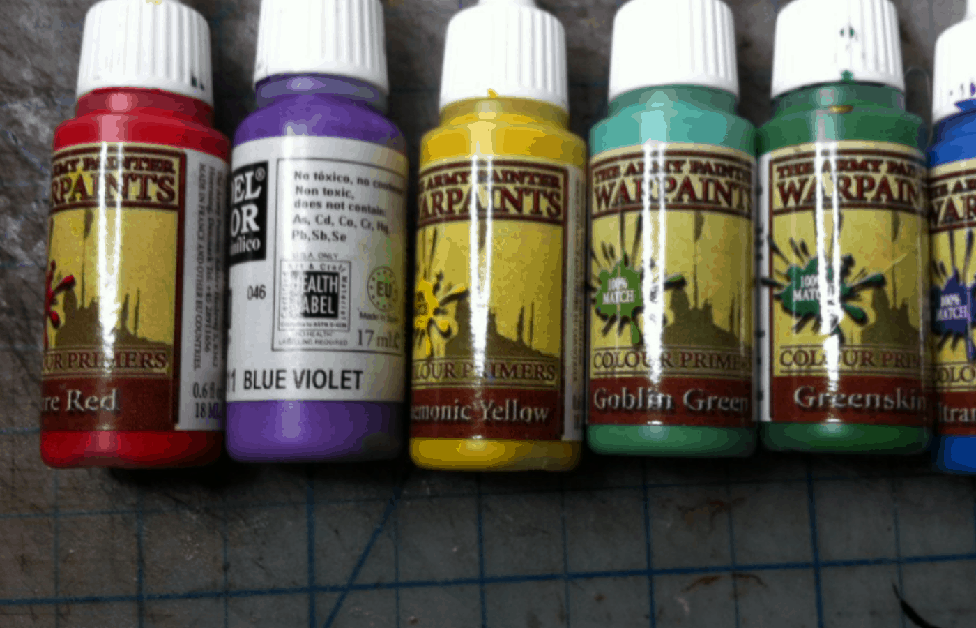 do army painter paints need to be thinned