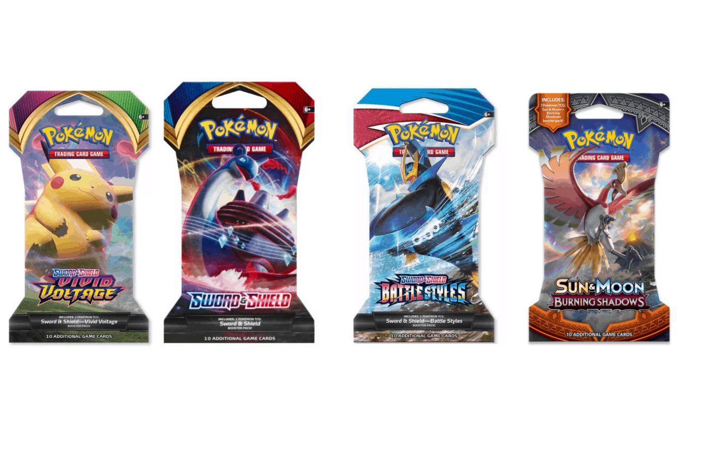 are pokemon booster packs all random