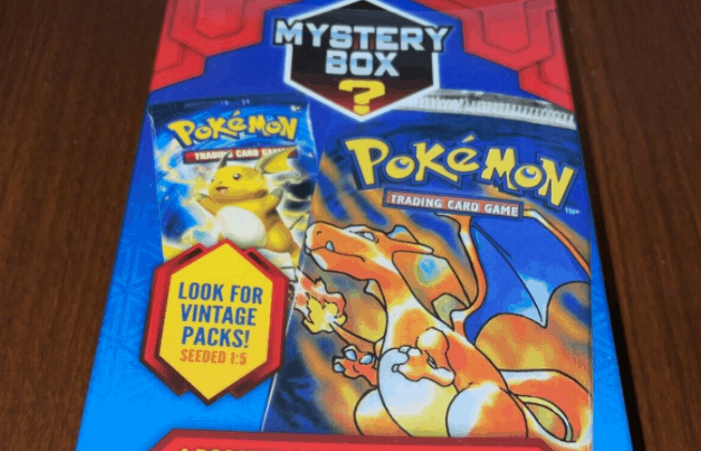 can you weigh pokemon mystery boxes