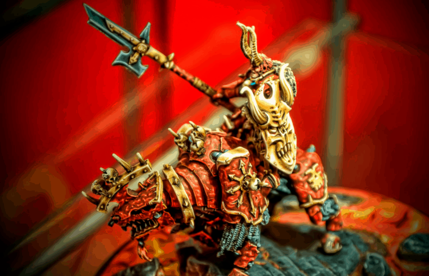 o warhammer miniatures come painted