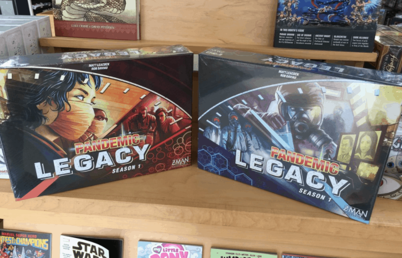 is pandemic legacy replayable
