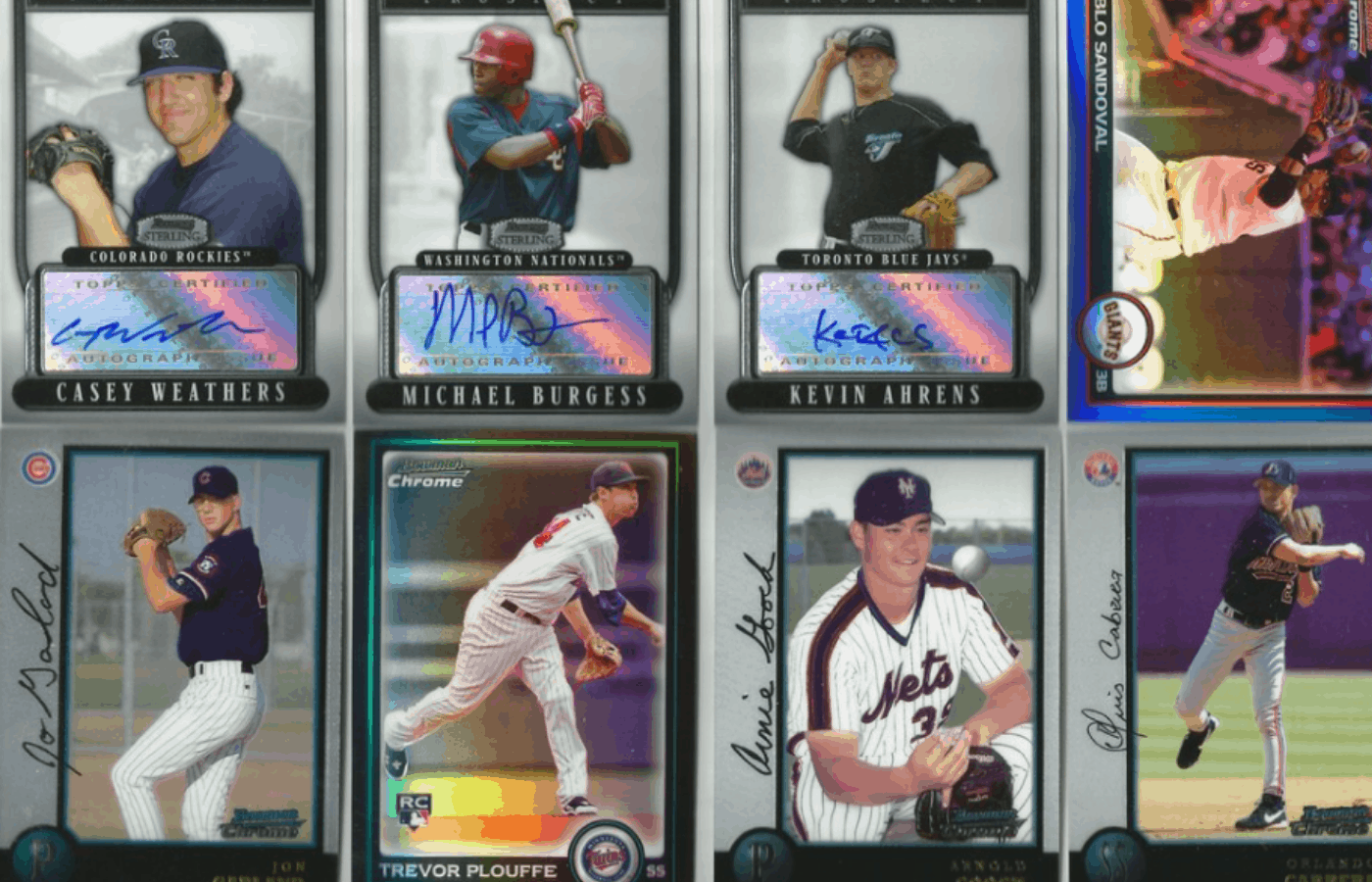 how do you get scratches out of chome baseball cards