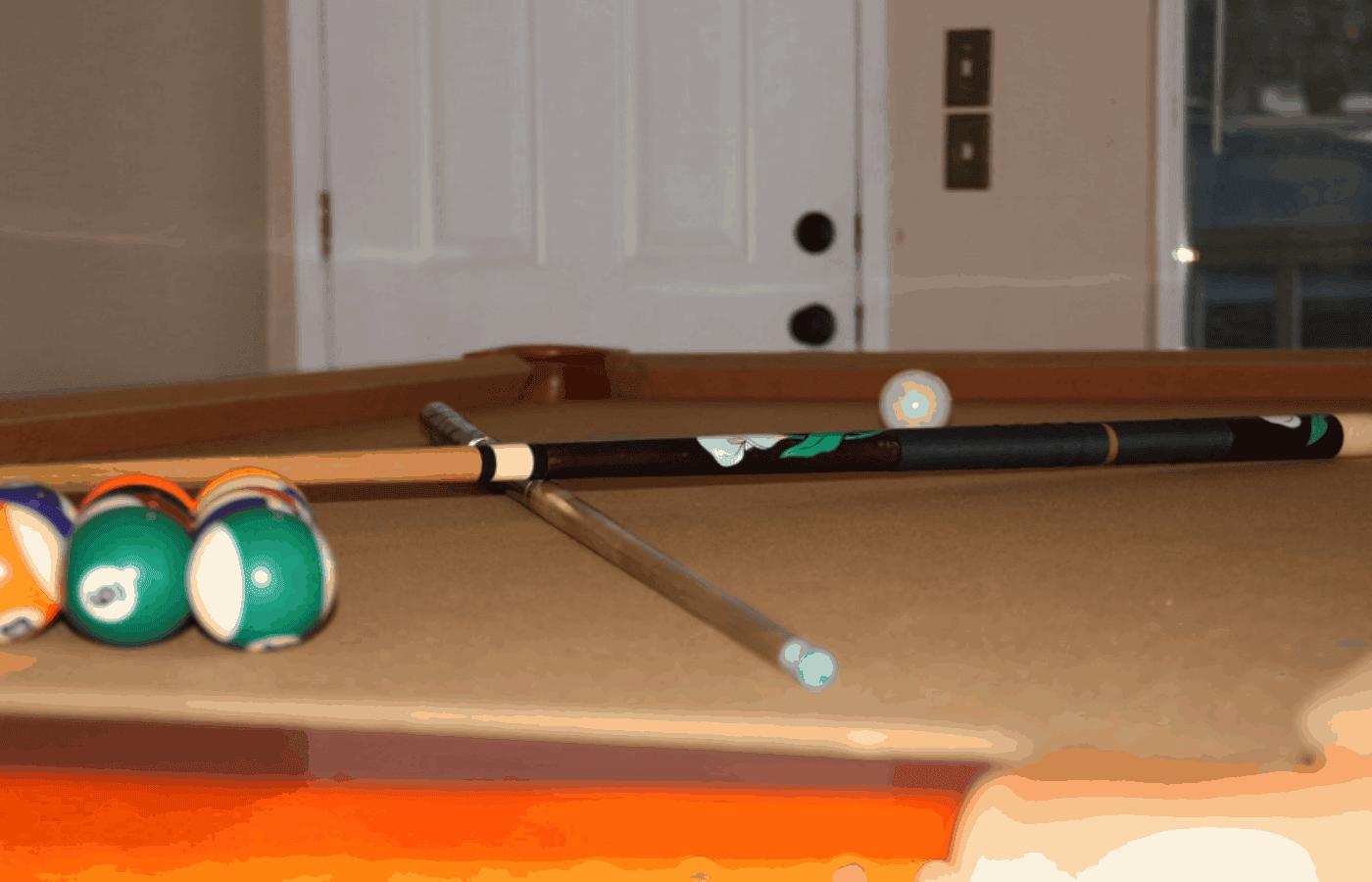ash vs maple pool cues