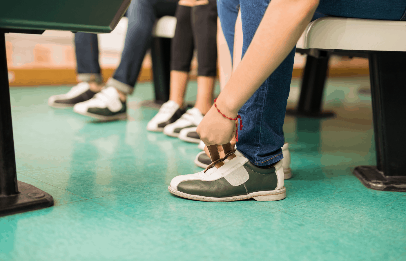 can you go bowling without socks