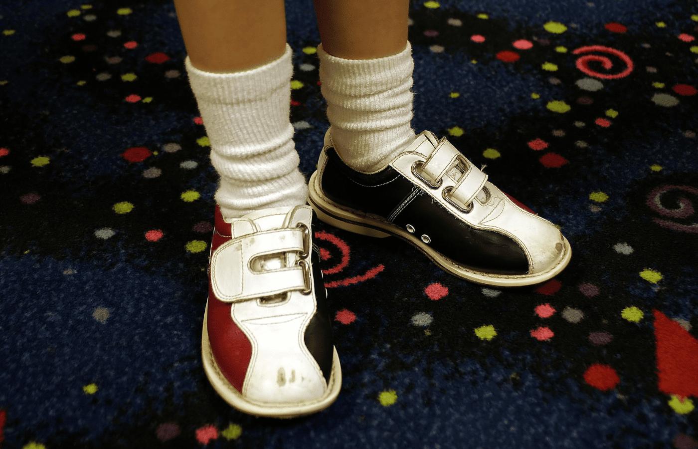 do bowling alleys sell socks