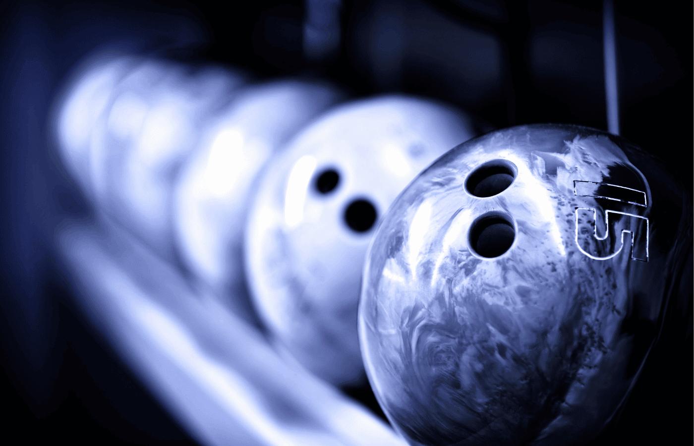 do bowling balls burn