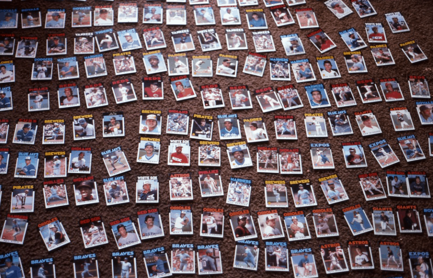 how many baseball cards are produced in a year