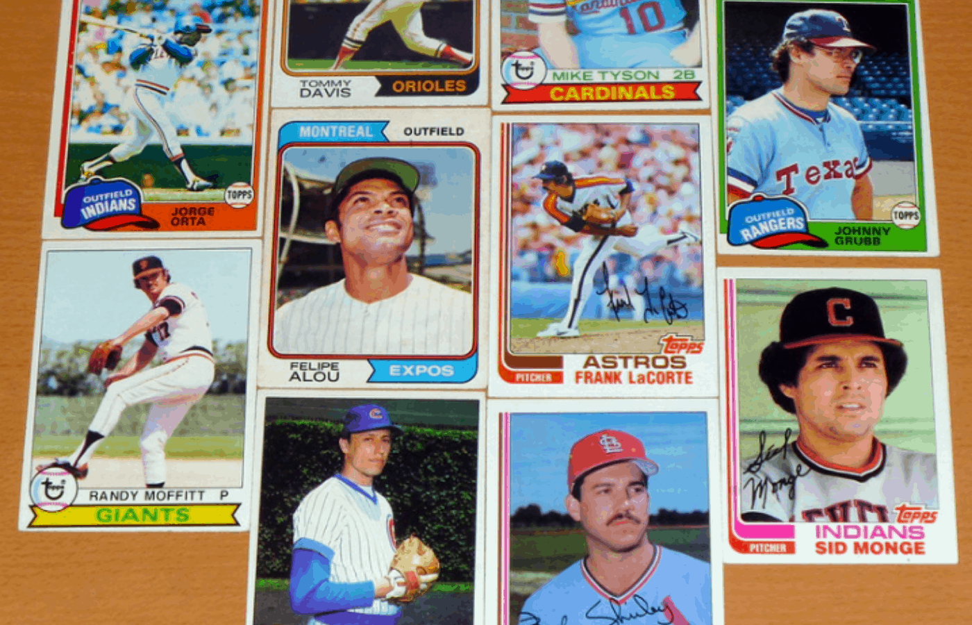 how to clean vintage sports cards
