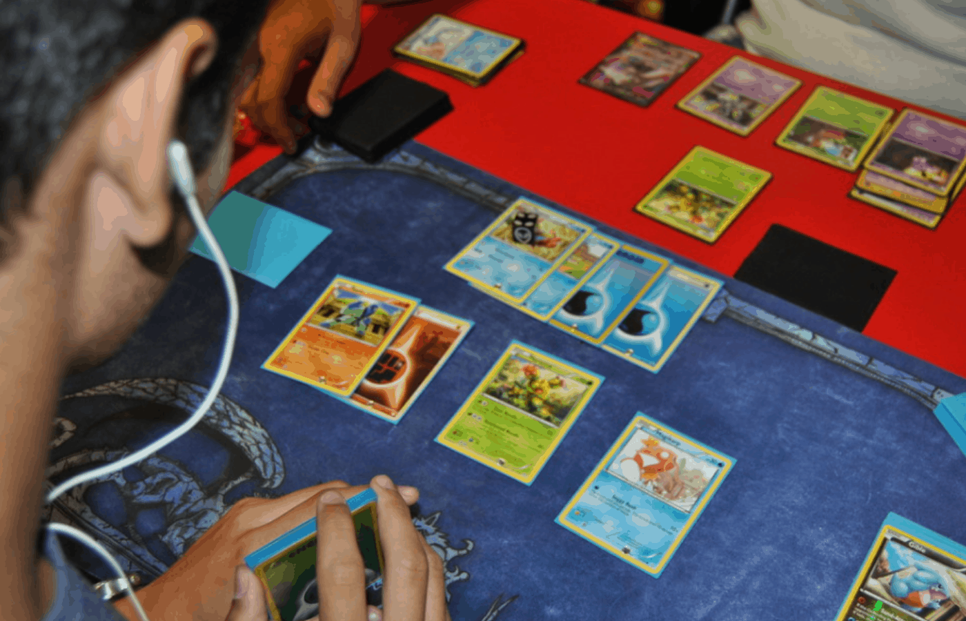 how to make card sleeves less sticky