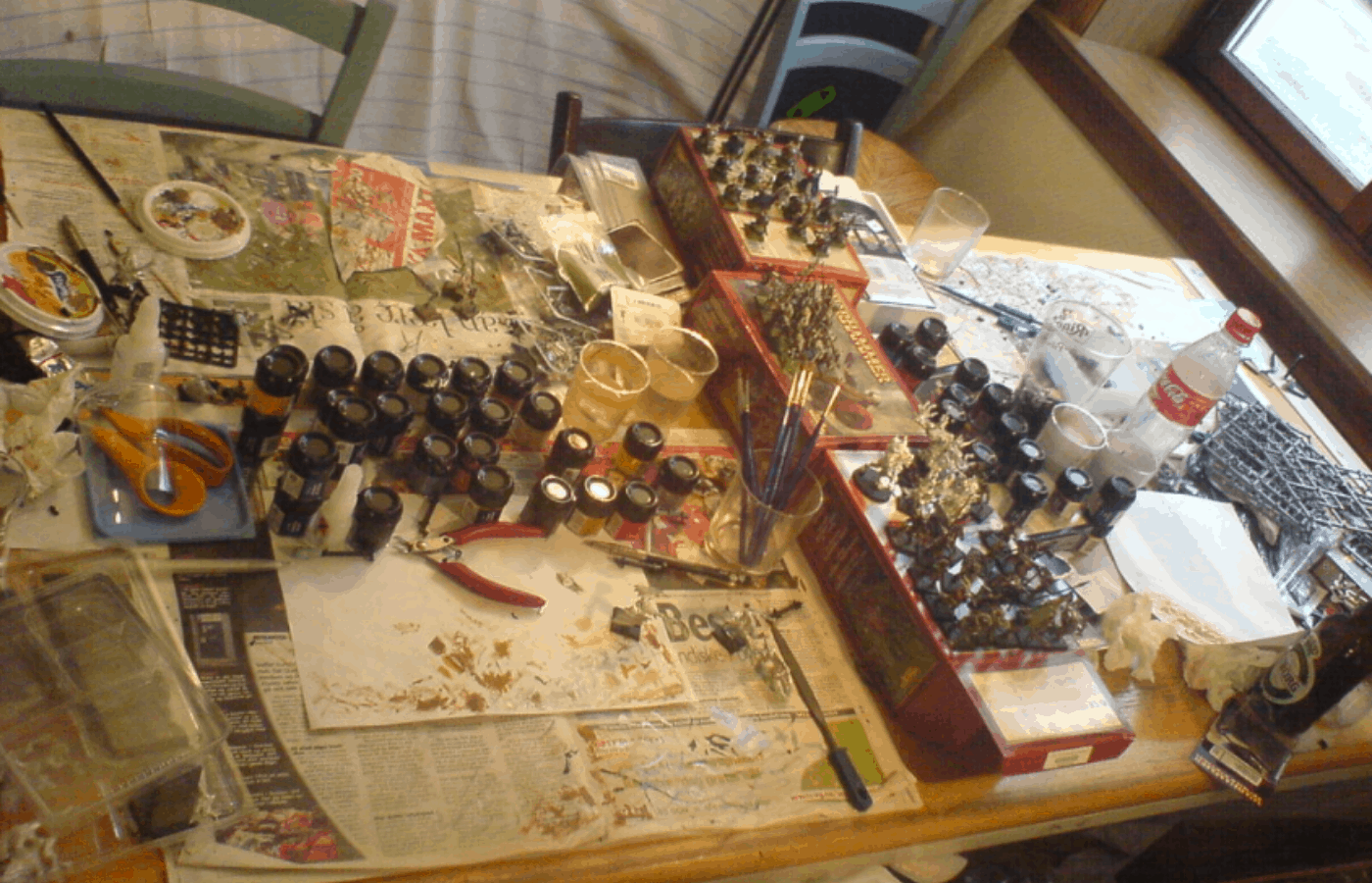 how to make money painting miniatures