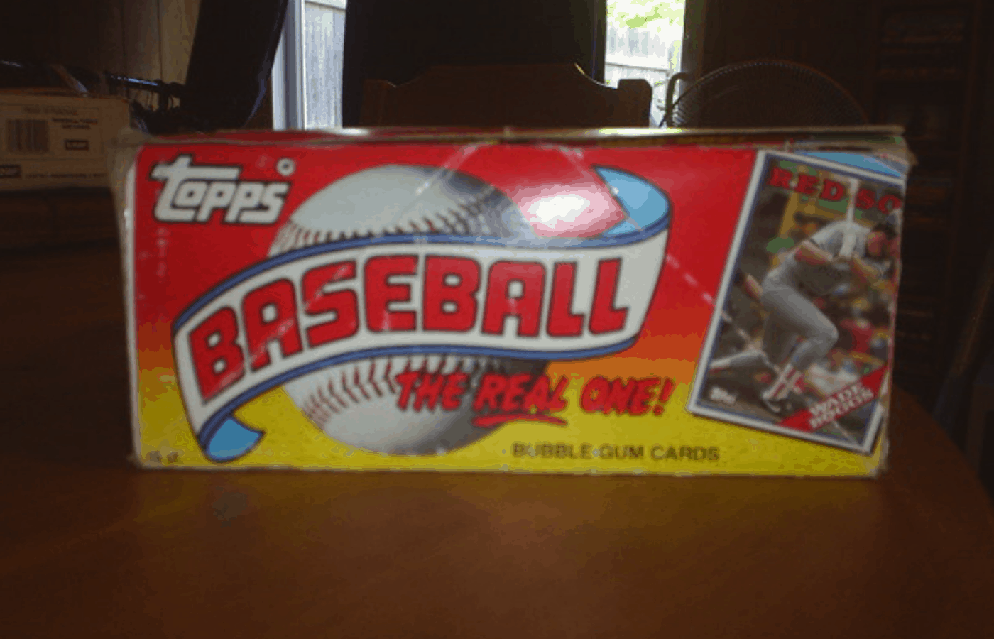 how to remove gum stains from baseball cards