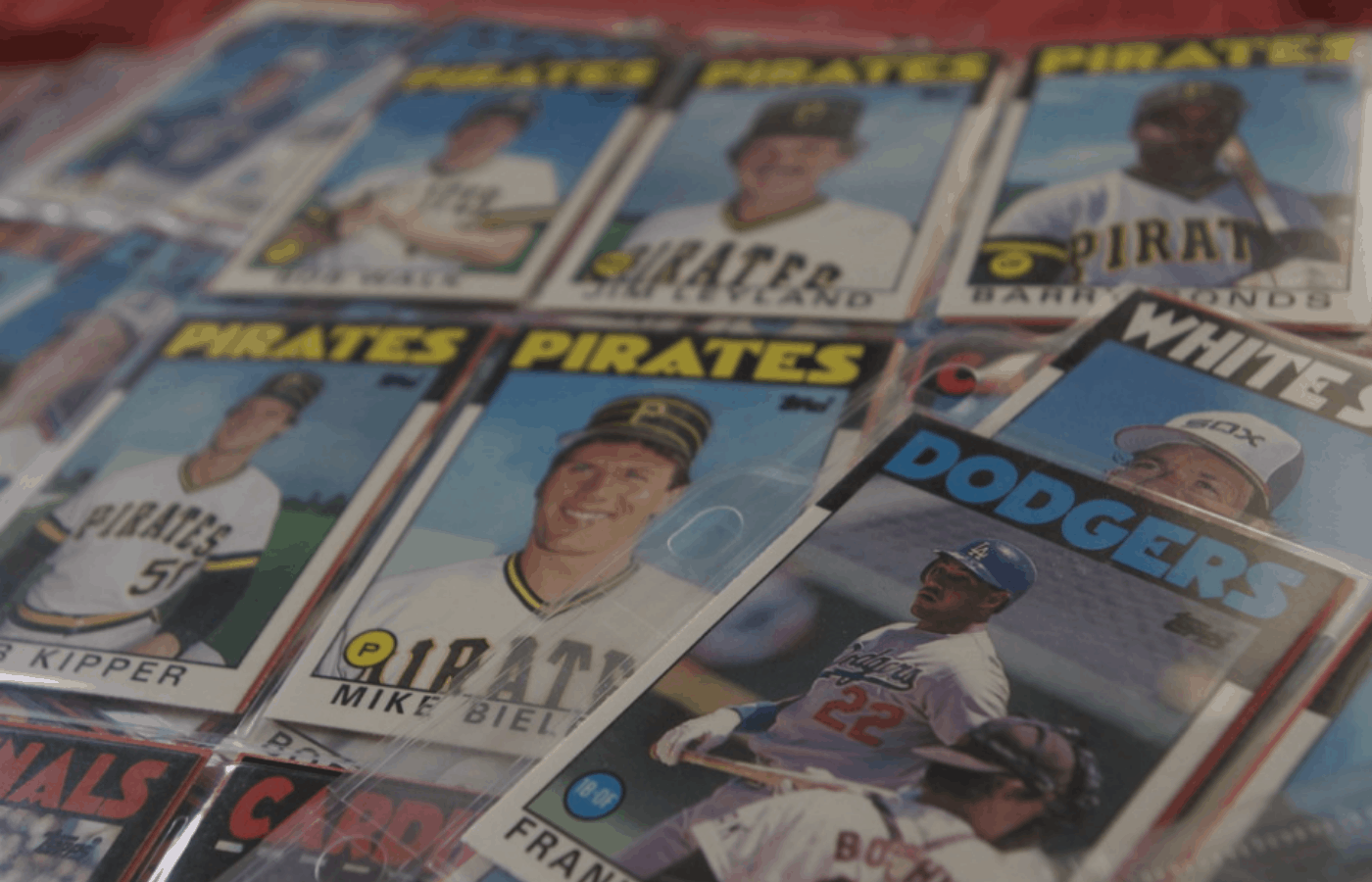 how to remove tape from old baseball cards