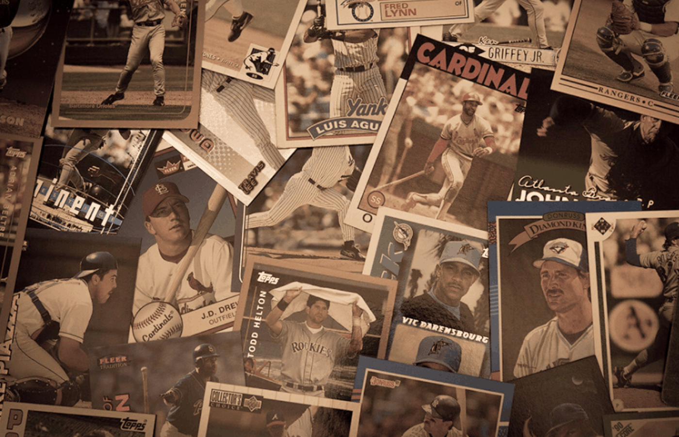 how to repair old baseball cards