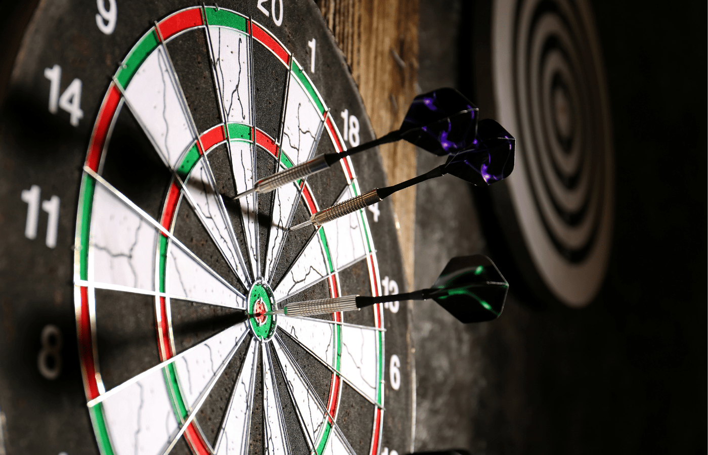 how to stop a dartboard from spinning/rotating