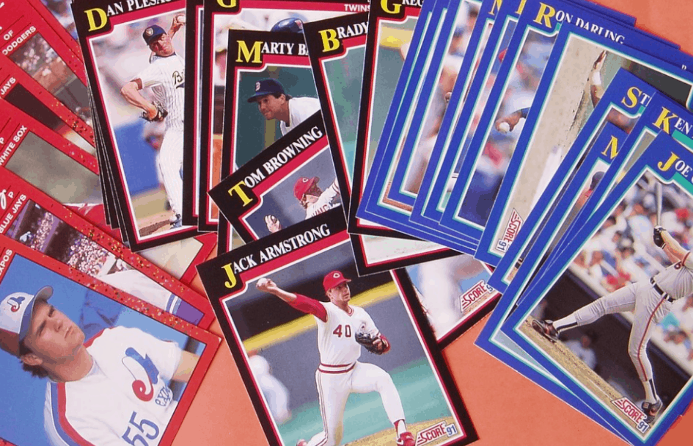 how to store baseball cards in the attic
