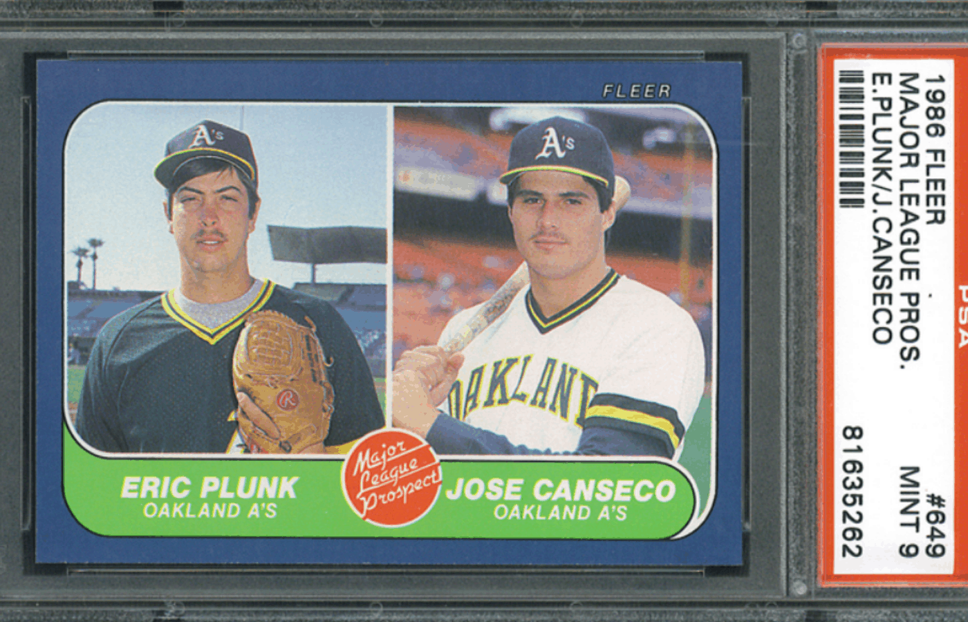 how to store graded baseball cards