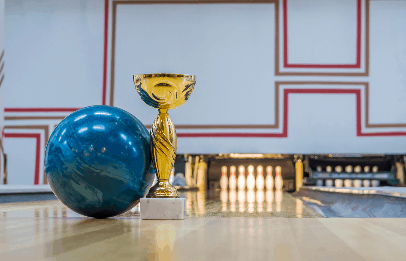 what to do with old bowling trophies