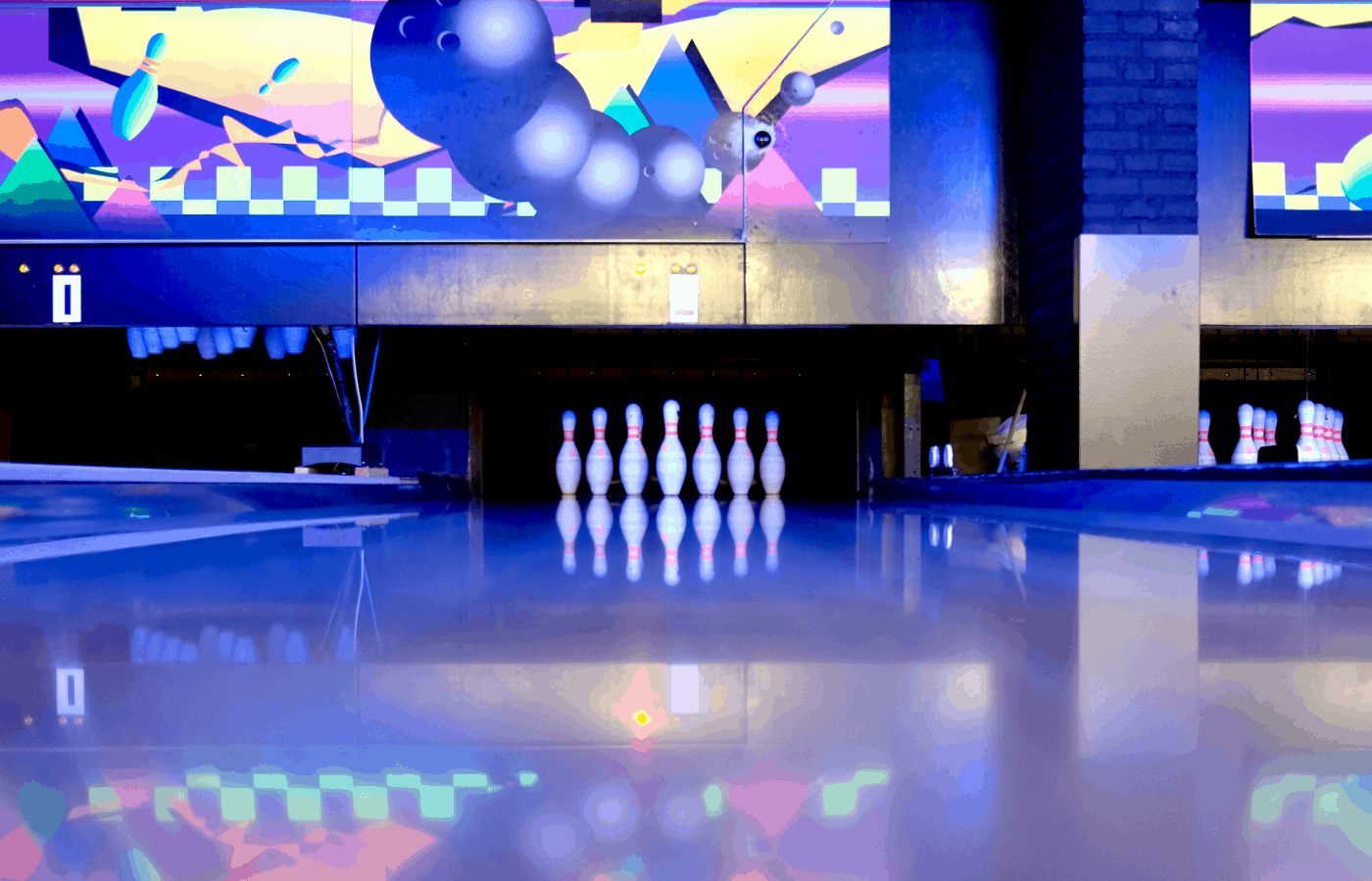 why are bowling animations so weird