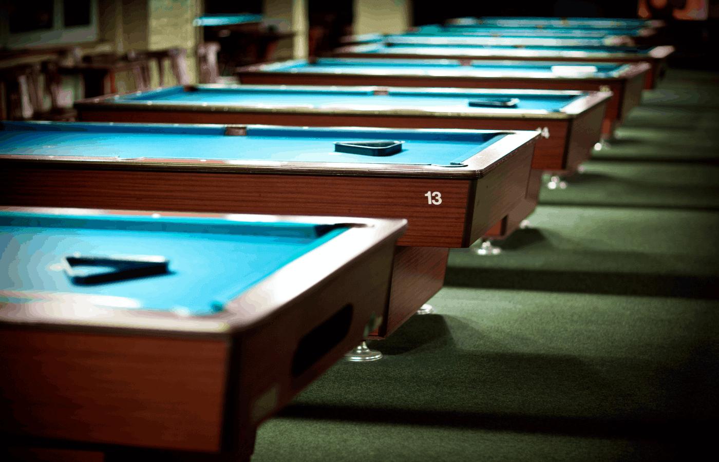 why do pool halls fail