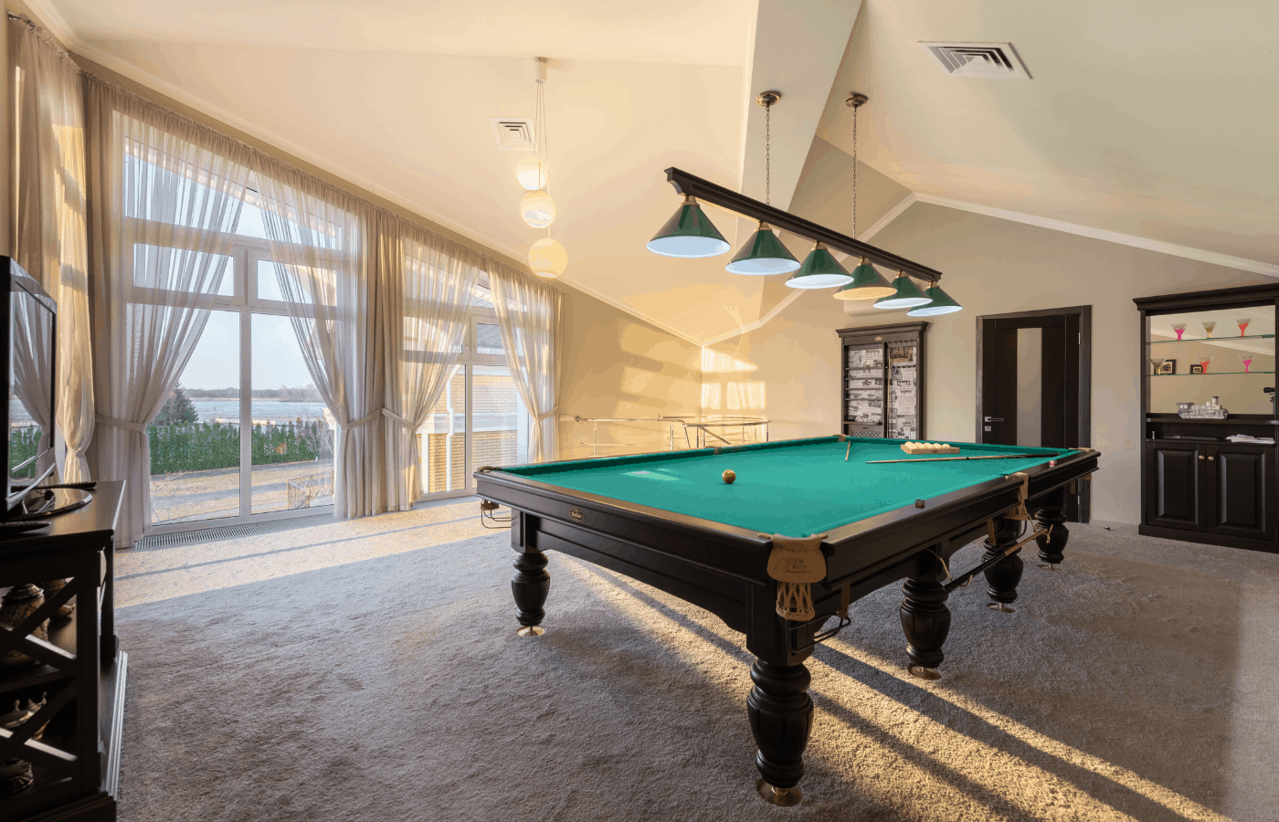 can you move a pool table with furniture sliders