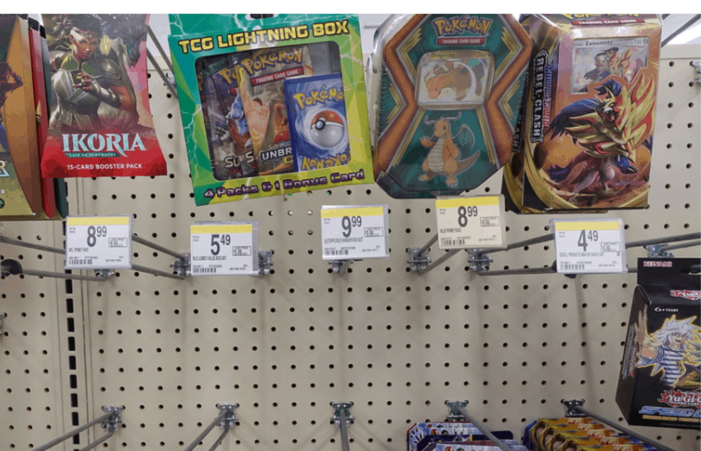 Does Walgreens/CVS Sell Pokemon Cards