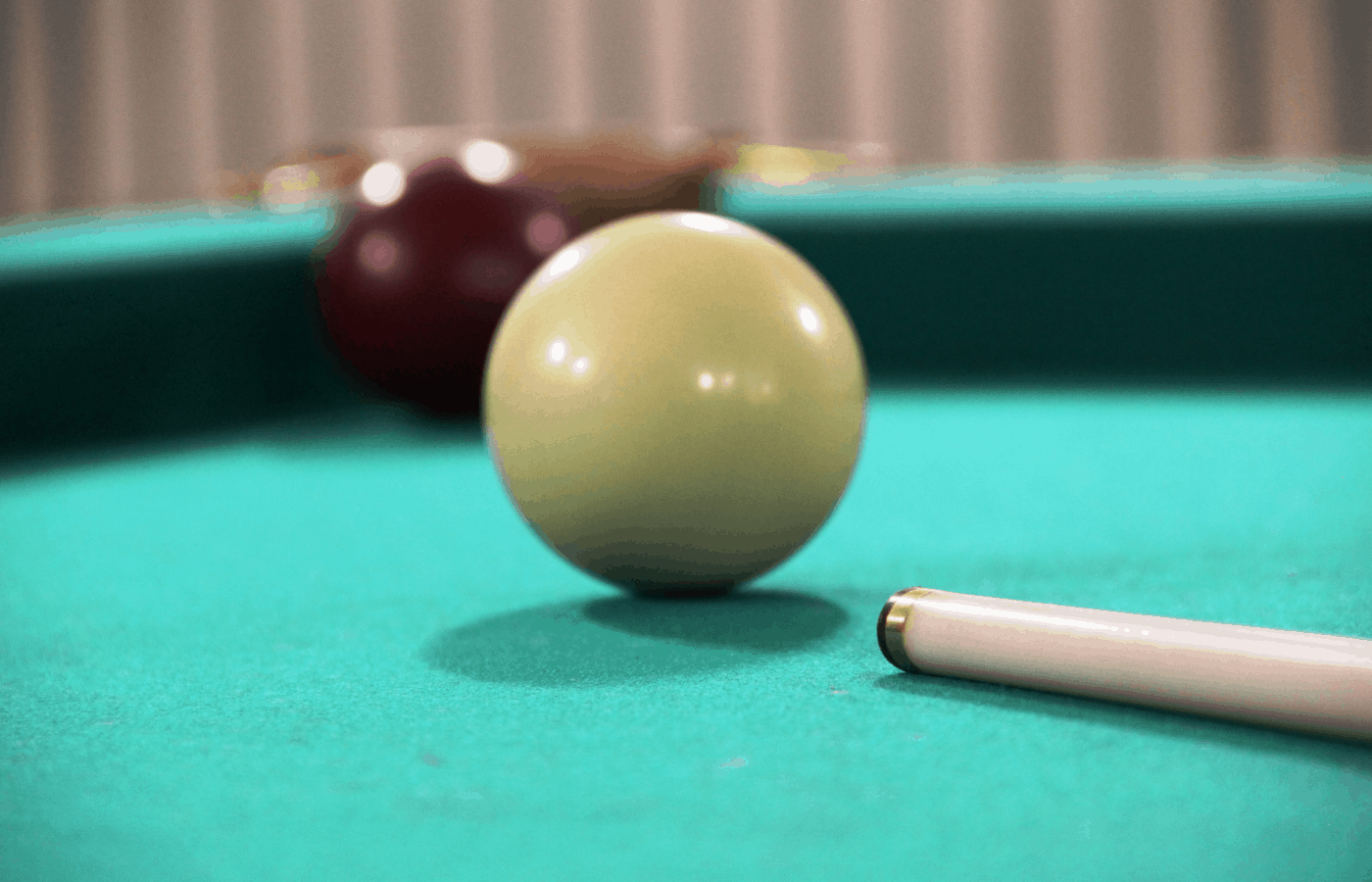 how to clean yellow pool balls