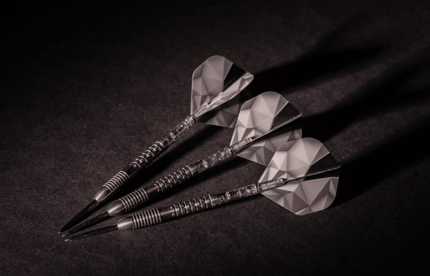how to fix bent dart tips