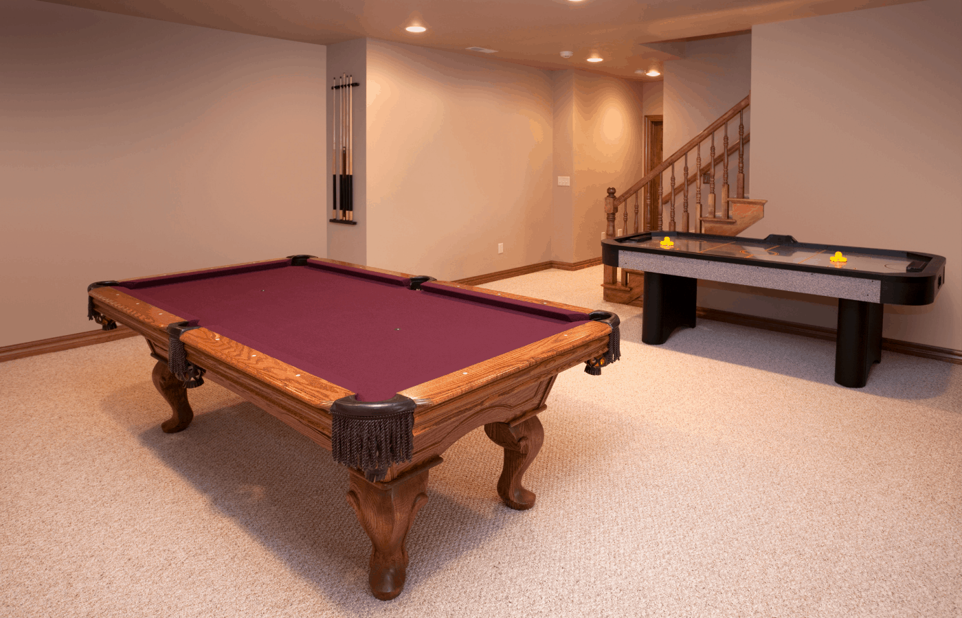 What Is the Best Sized Pool Table for a Basement
