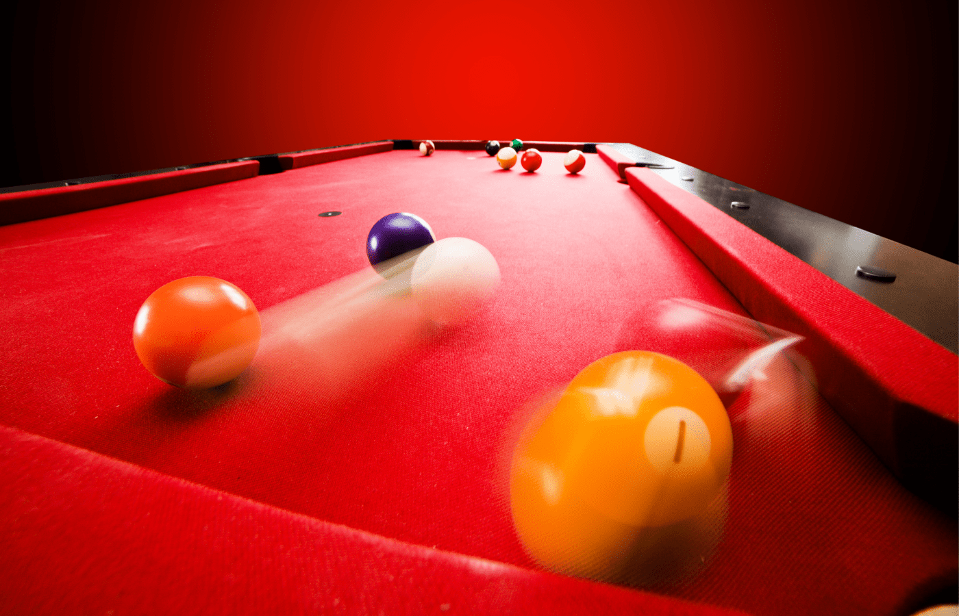 why do pool balls bounce