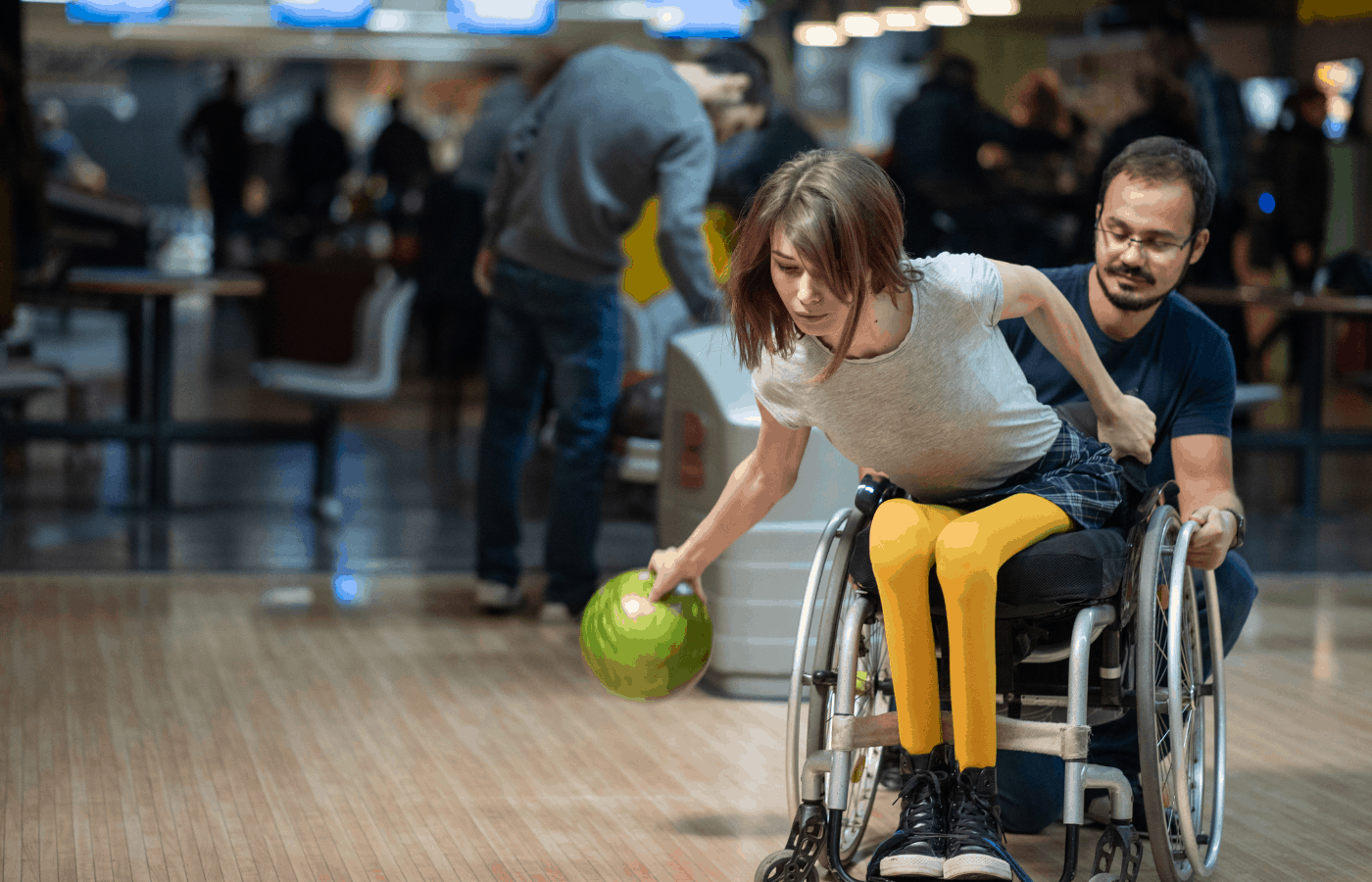 can disabled people play bowling
