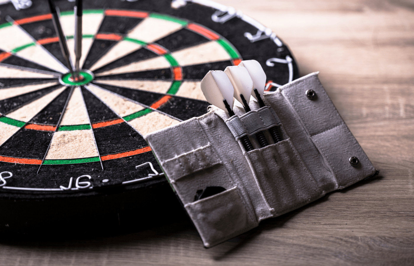 can you change darts during a game