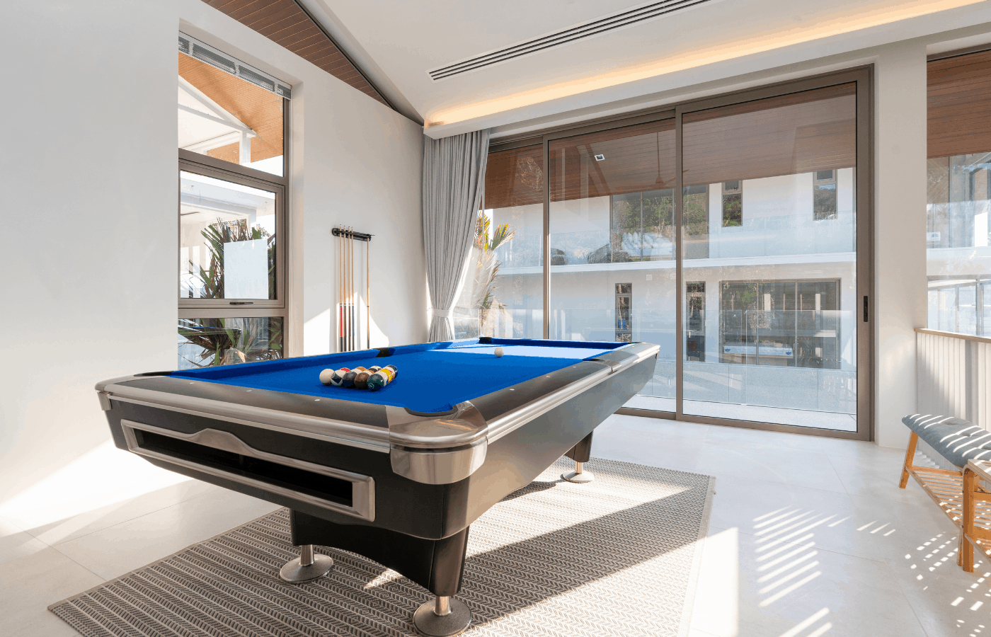 can you have a pool table in an apartment