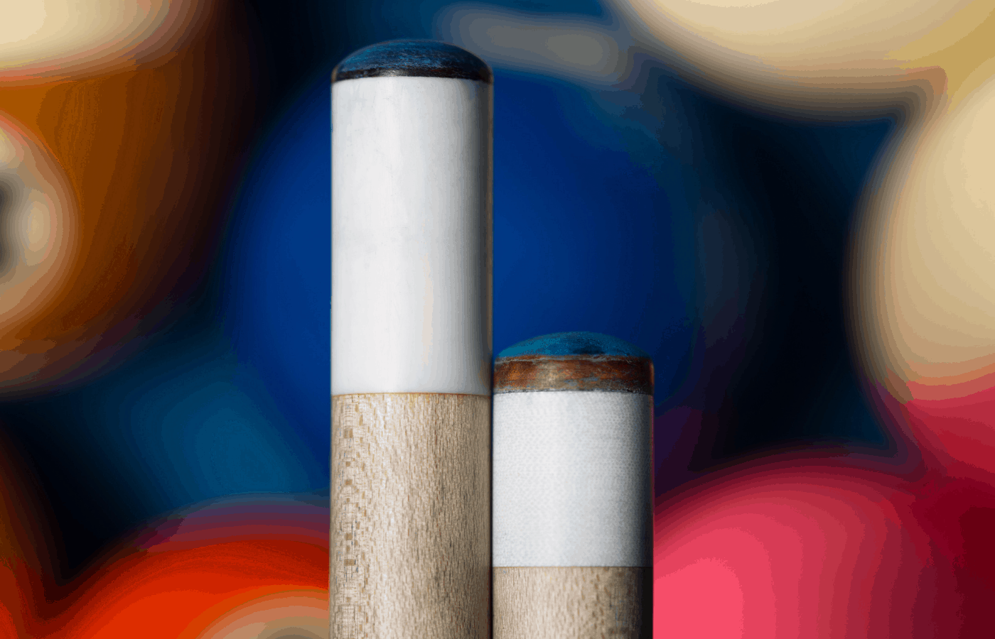 how to soften a hard pool cue tip