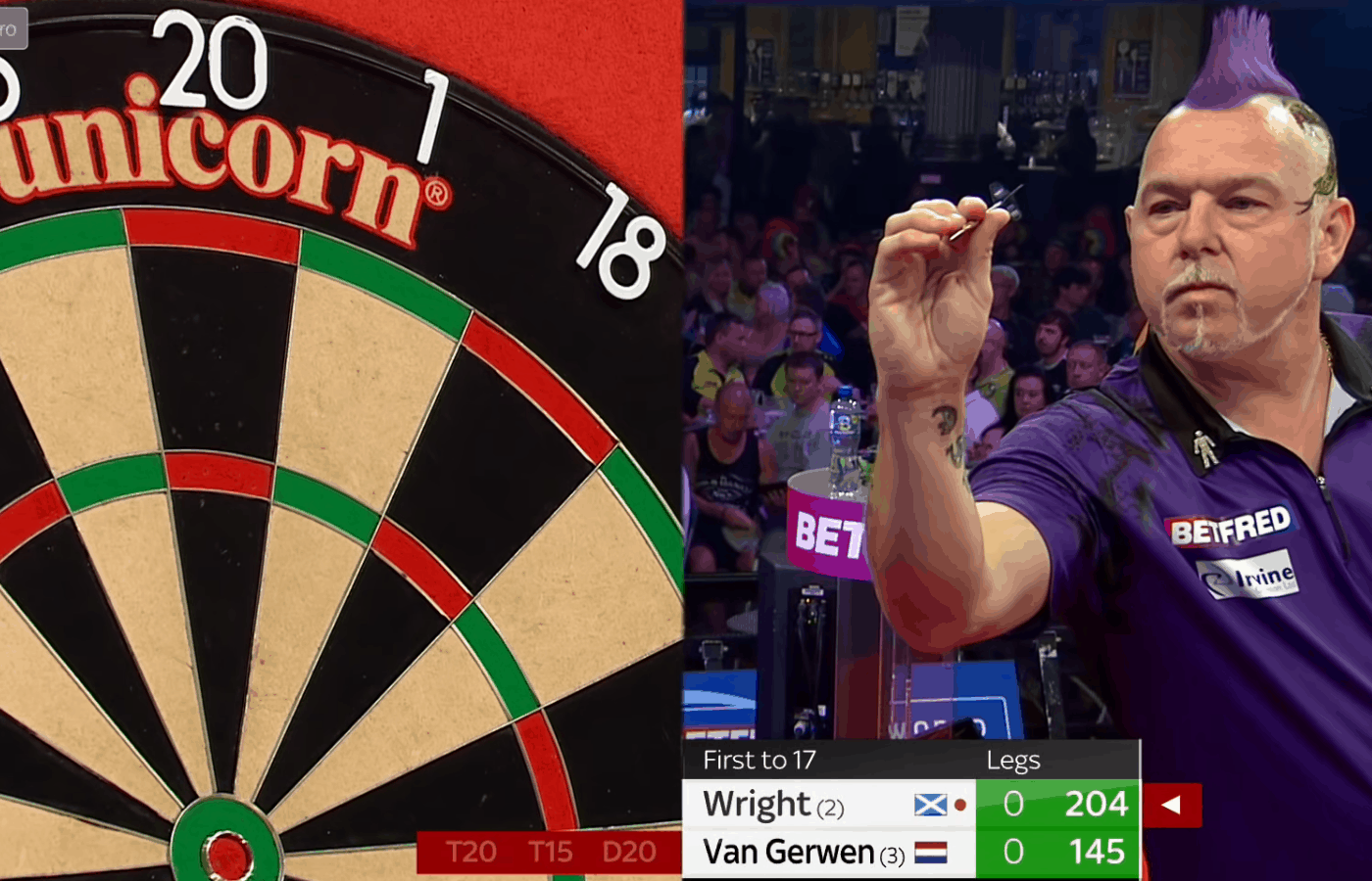 What Darts Does Peter Wright Use